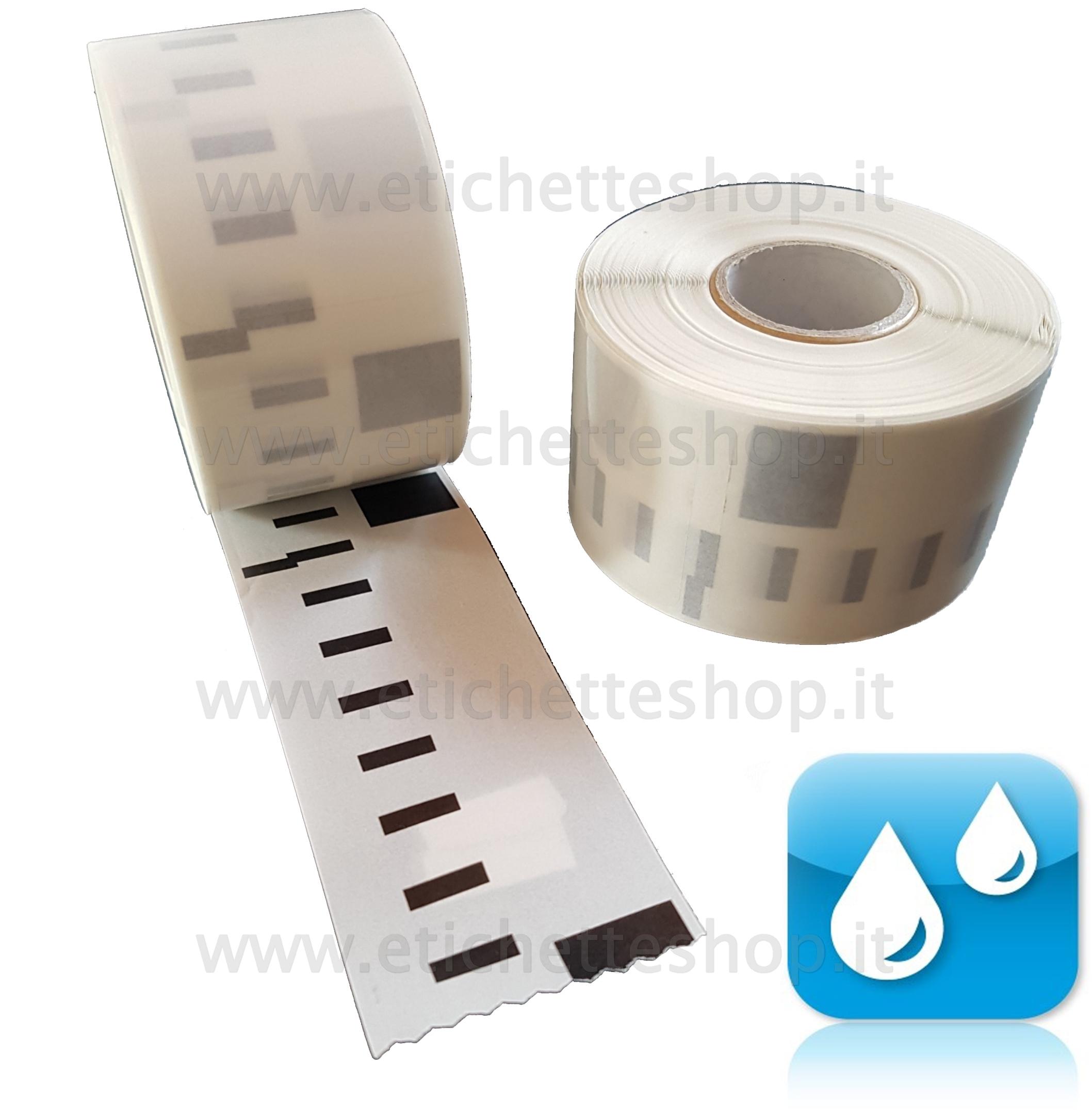 Printing Saver 10x 11356 89 x 41 mm Compatibili Rotoli Etichette adesive per Dymo LabelWriter 310 320 330 4XL 400 450 Turbo//Twin Turbo//Duo /& Seiko SLP etichettatrici 300 Etichette//Rotolo